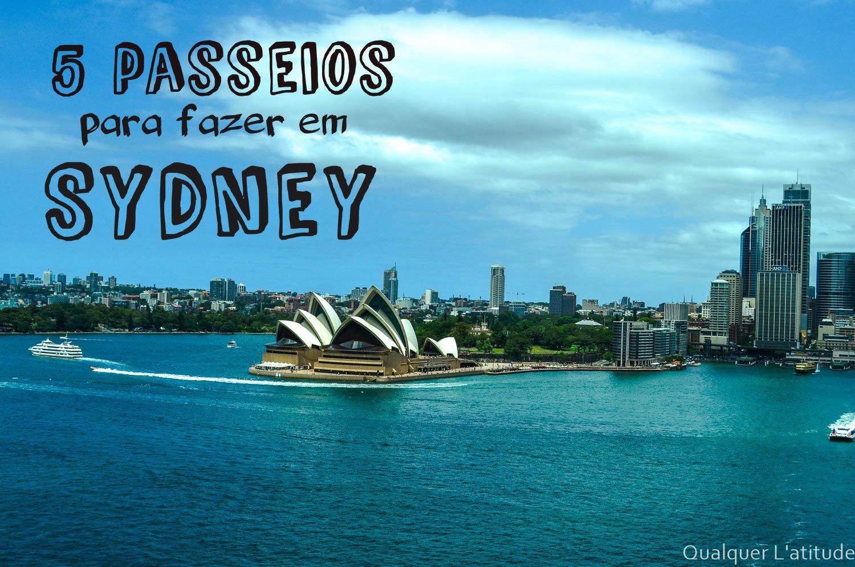 Passeios para fazer em Sydney