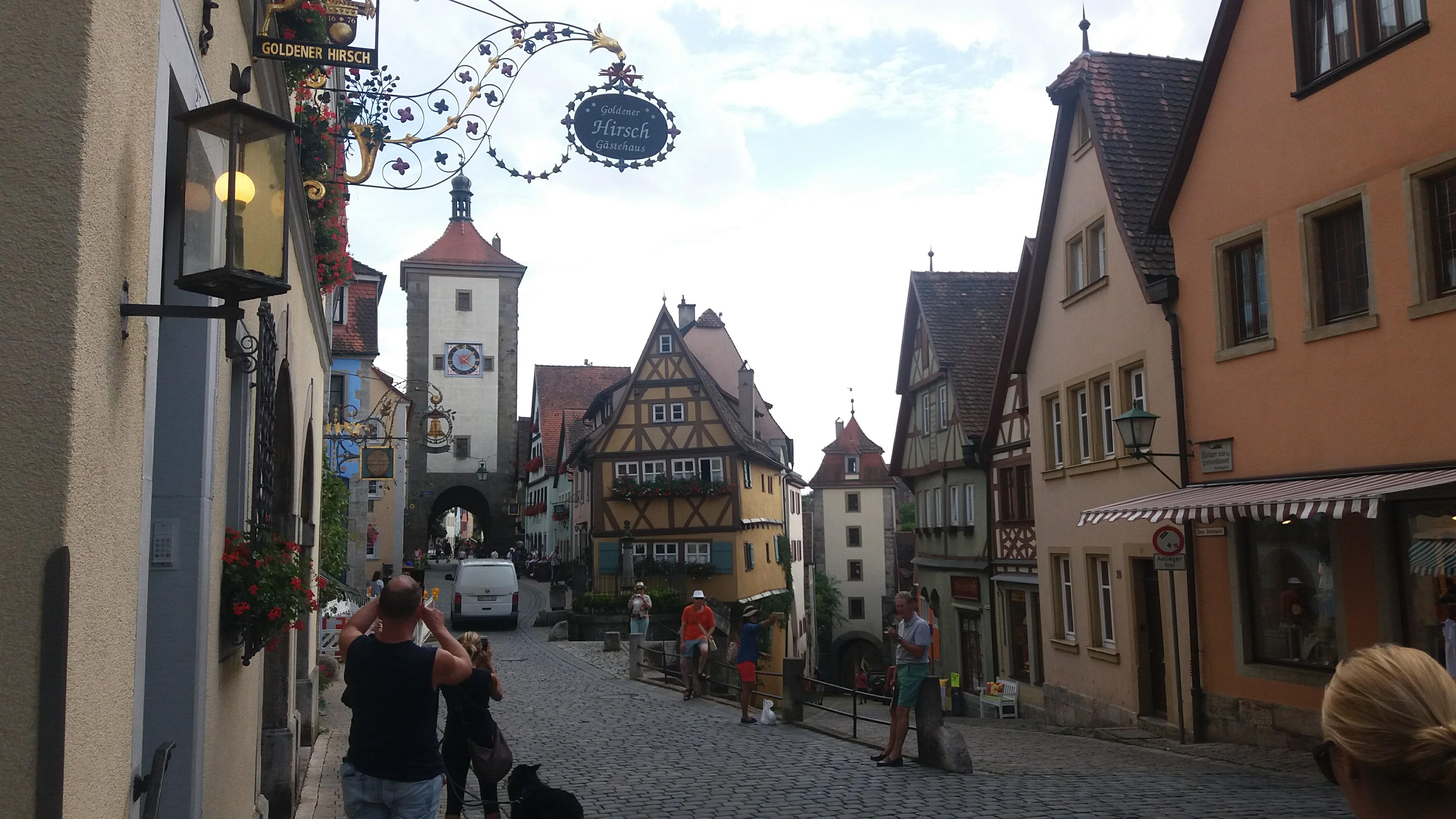 Um dia em Rothenburg ob der Tauber