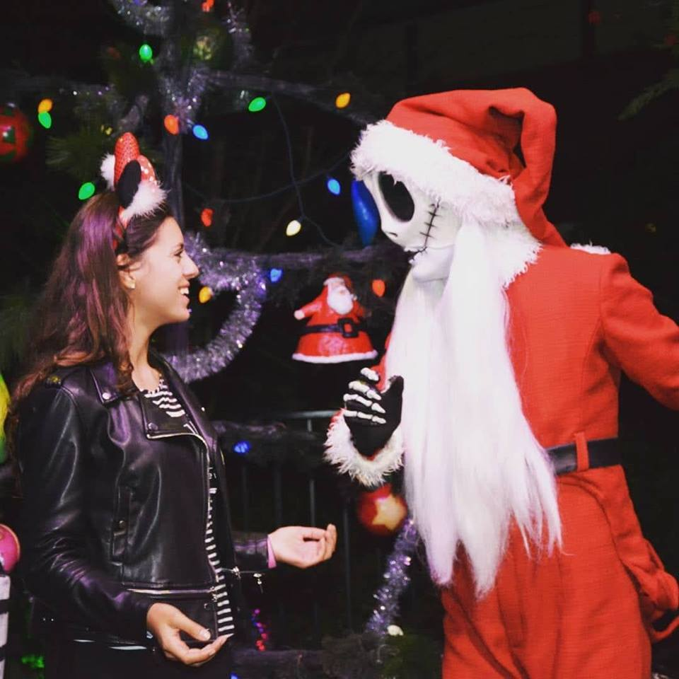 Halloween X Natal na Disney