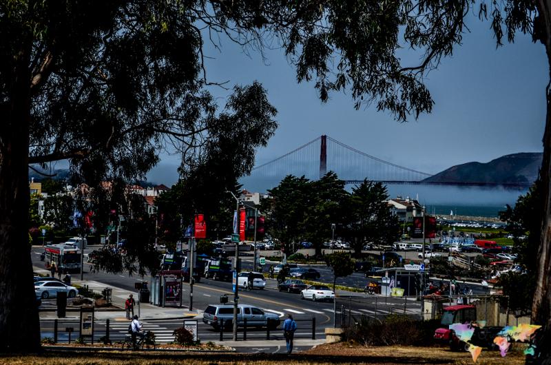 Andando sem rumo por São Francisco